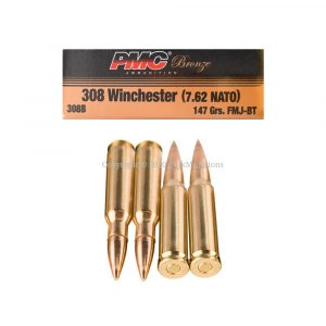 308 Win - 147 gr FMJ-BT - PMC (308B)