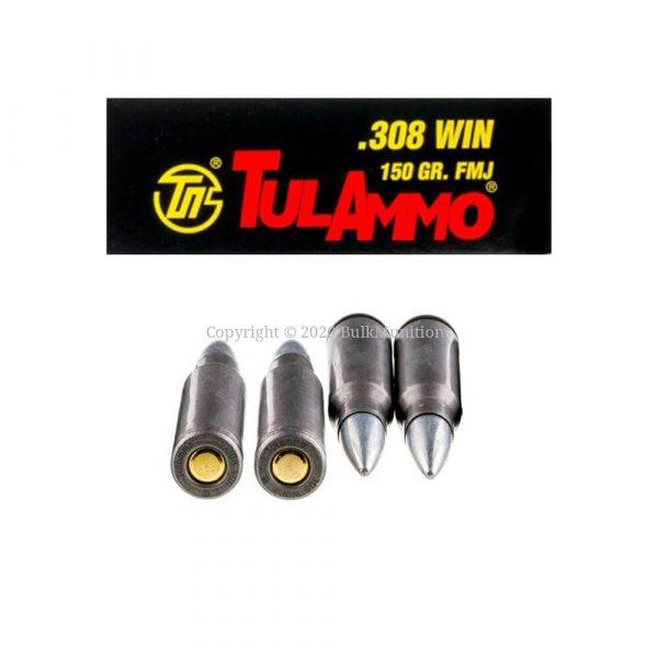 308 Win - 150 gr FMJ - Tula (308FMJ)