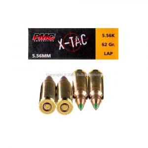 5.56x45mm – 62 Grain FMJ M855 – PMC (5.56K) – 1000 Rounds