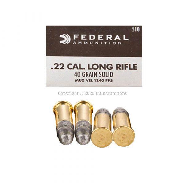 22 LR - 40 gr LRN - Federal Champion (510)