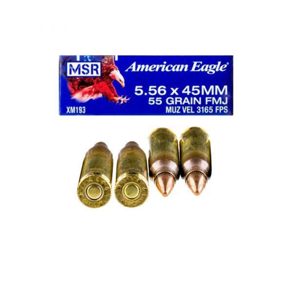 5.56x45mm – 55 gr. FMJ-BT – Federal (XM193)