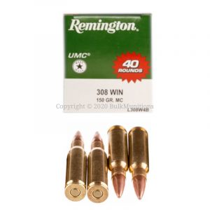 308 Win - 150 gr FMJ - Remington (L308W4B)