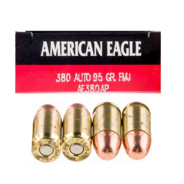 380 Auto - 95 gr. FMJ - Federal American Eagle (AE380AP)