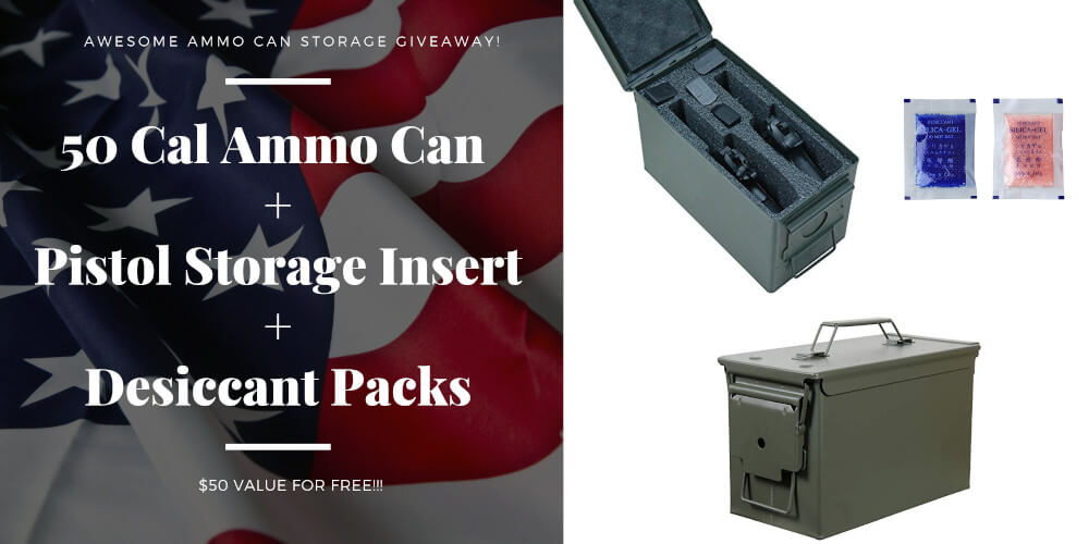 Ammo Can GiveAway 50 Cal