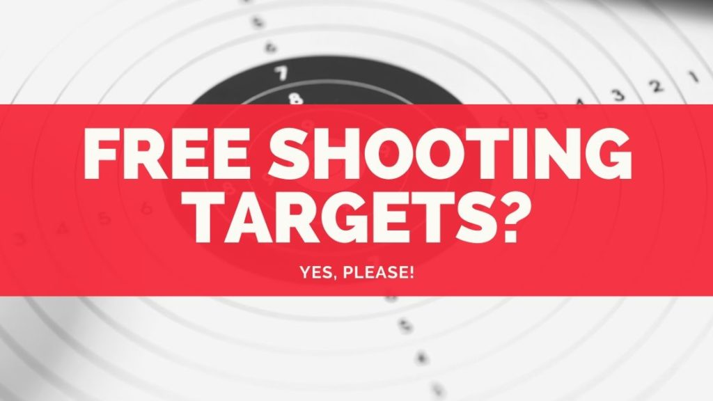 Where to find free shooting targets online