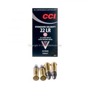 22 LR - 40 gr LRN - CCI Std Vel (0035) - 5000 Rounds