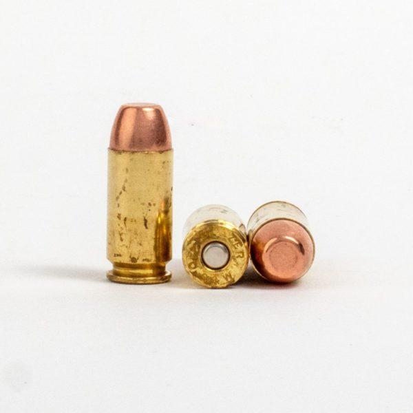 Blazer 5210 40 Smith & Wesson 165 Grain FMJ Rounds