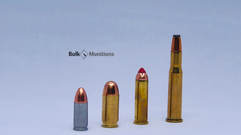 The parts of ammunition