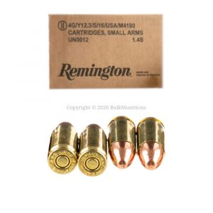 9mm - 115 gr FMJ - Remington UMC (L9MM3BPA)