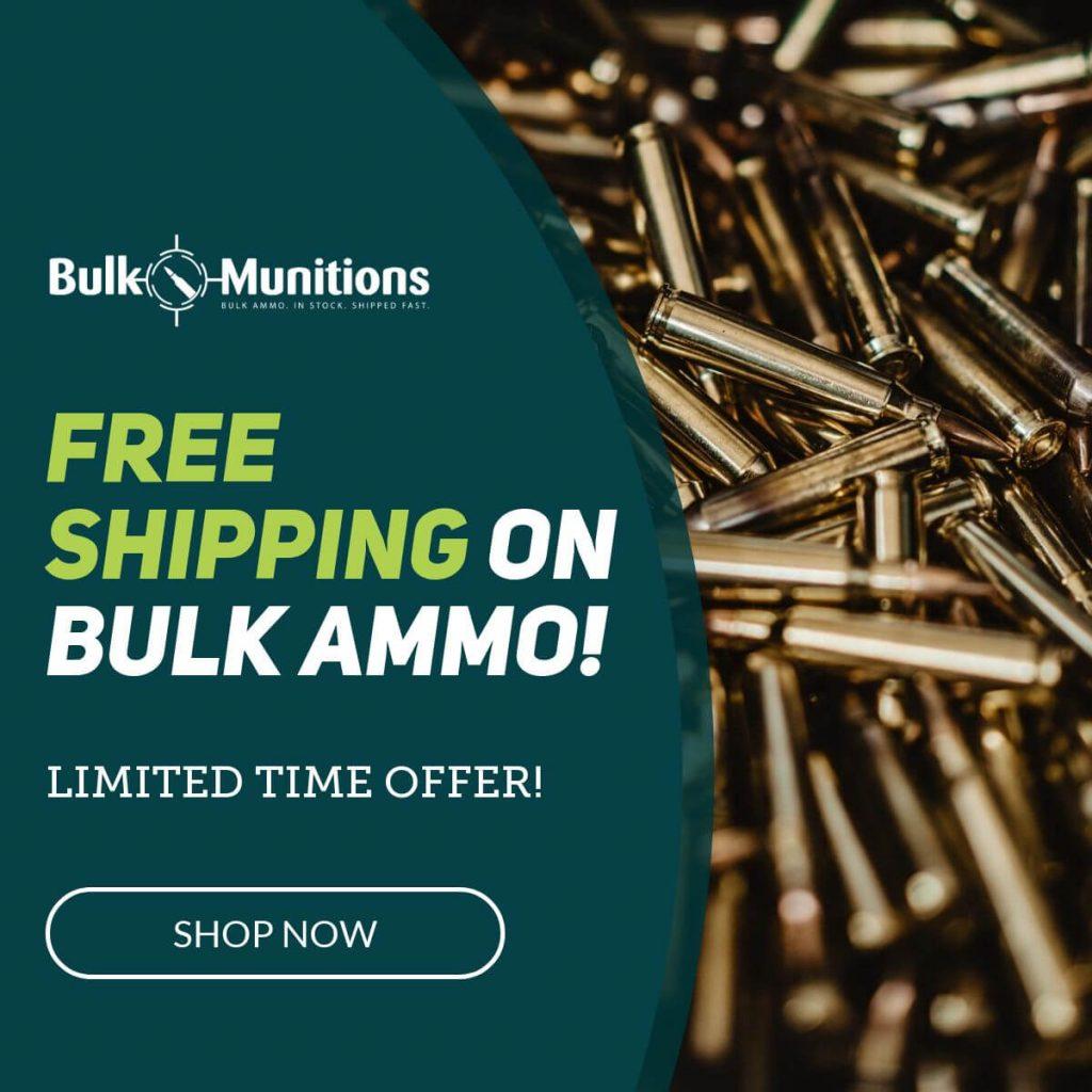 bulk ammo free shipping banner