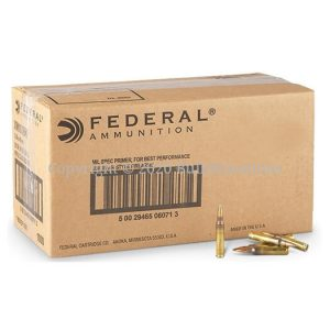 556x45mm - Federal - XM193BK - Bulk Ammo - 1000 Rounds