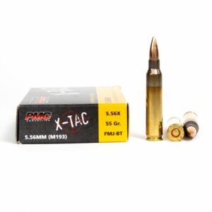 PMC 5.56X 5.56x45mm 55 Grain FMJ Ammo Box Side