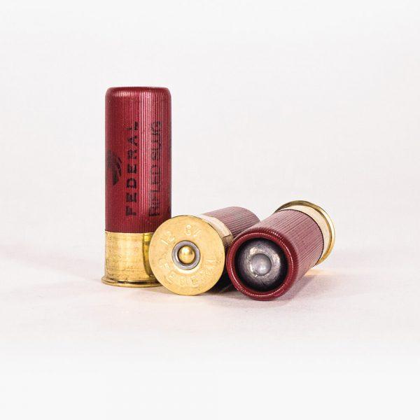 12 Gauge 1oz Rifled Slug HP Federal Power-Shok F127 RS Ammo Rounds