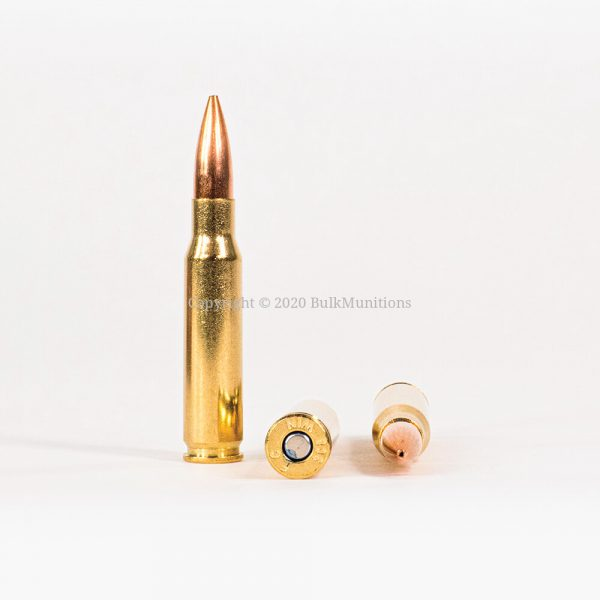 308 Win 168gr Federal Sierra Match King GM308M Ammo Rounds