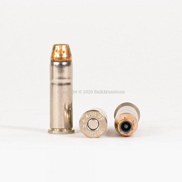 38 Special +P 129gr JHP Hydra-Shok Federal P38HS1 Ammo Rounds