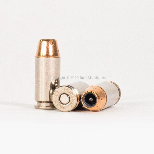 40 SW 165gr JHP Hydra-Shok Federal PD P40HS3 Ammo Rounds