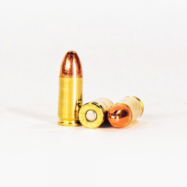 9mm Luger 115gr FMJ Blazer Brass 5200 Ammo Rounds