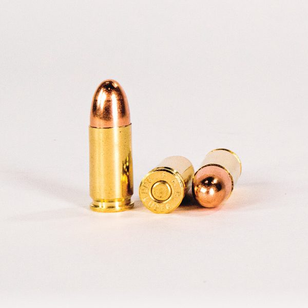 9mm Luger 115gr FMJ PMC Bronze 9A Ammo Rounds