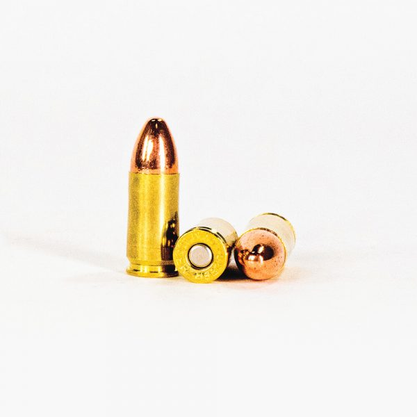 9mm Luger 115gr TMJ Speer Lawman 53650 Ammo Rounds