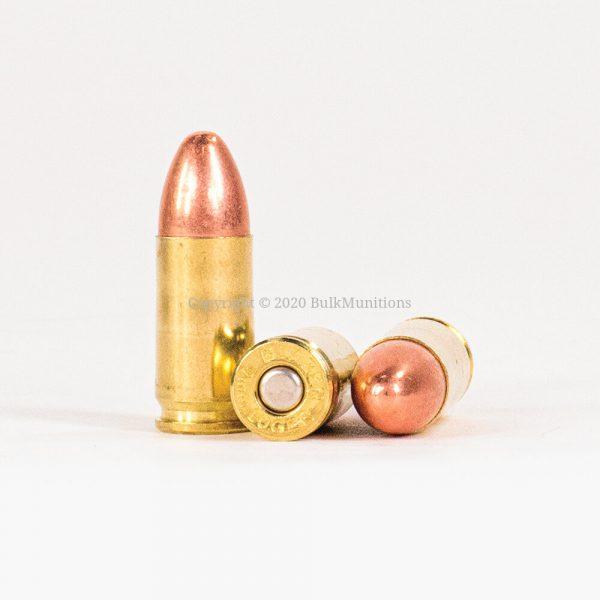 9mm Luger 124gr FMJ CCI Blazer Brass 5201 Ammo Rounds