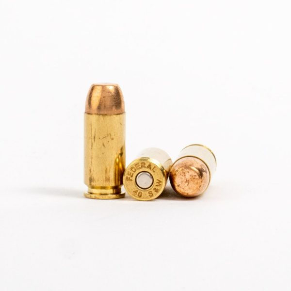 Federal AE40R3 40 Smith & Wesson 165 Grain FMJ Rounds