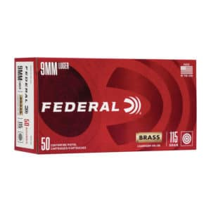 Federal Champion 9mm Luger 115gr FMJ WM5199 Ammo In Bulk