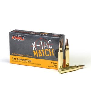 PMC 223XM - 77gr OTM Match Ammo in Bulk