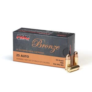 PMC 25 ACP Ammo in Bulk