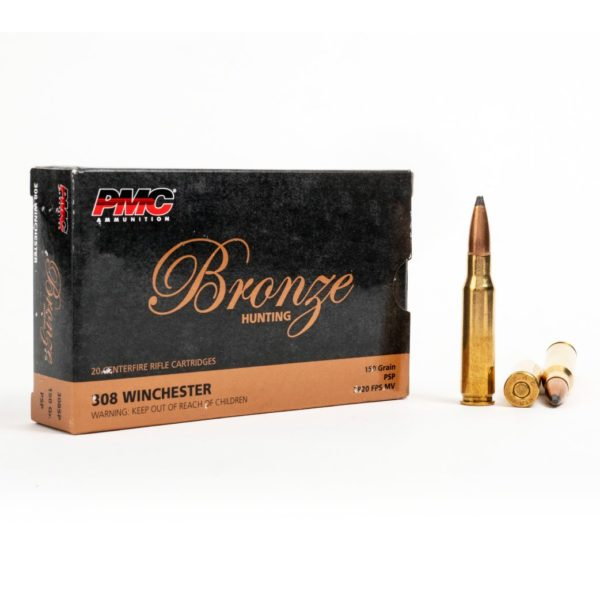 PMC 308SP 308 Winchester 150 Grain SP Box Front