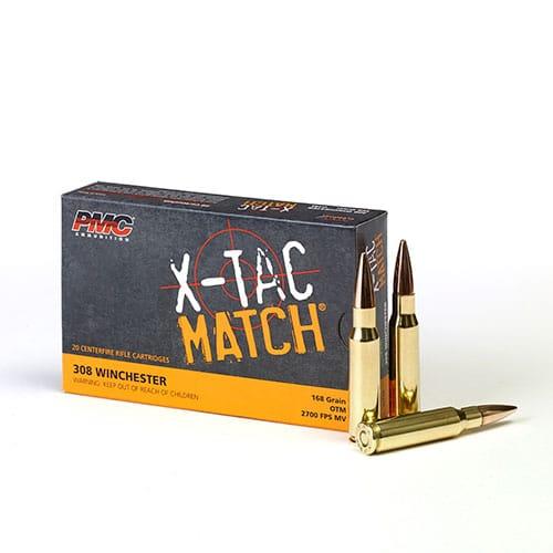 PMC 308XM - 168gr OTM 308 Bulk Ammo