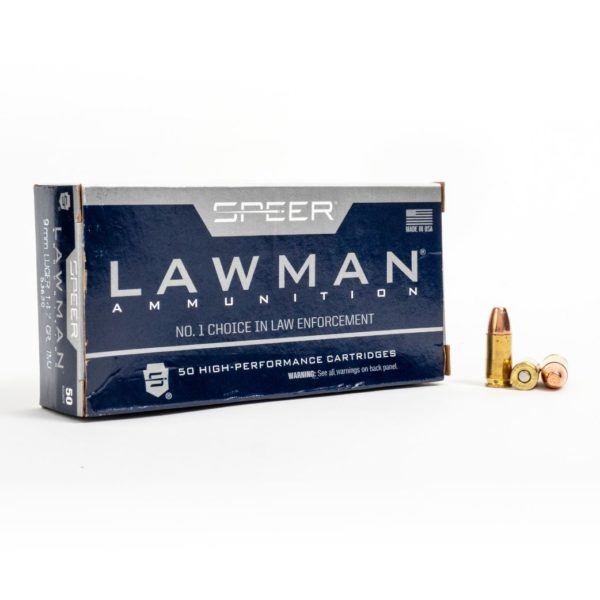 Speer 53620 9mm Luger 147 Grain TMJ Box Front