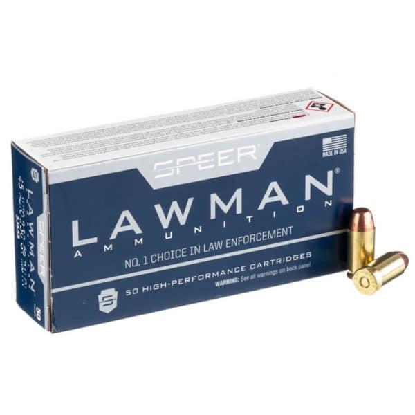 Speer Lawman 45 ACP 230gr FMJ Ammo - 53658