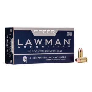 40 SW - 180 gr TMJ - Speer Lawman (53652) Bulk Ammo - 1000 Rounds