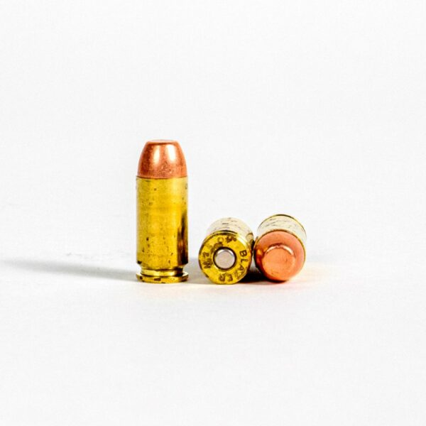Blazer Brass 5220 40 SW 180 Grain FMJ Rounds