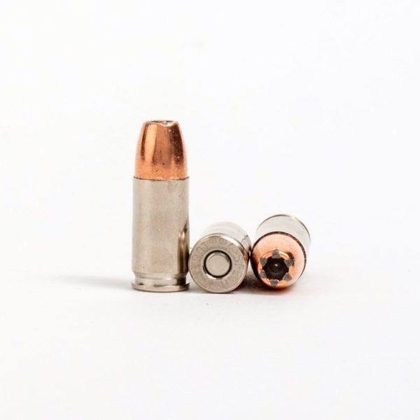 Speer 53617 9mm Luger+P 124 Grain JHP Rounds