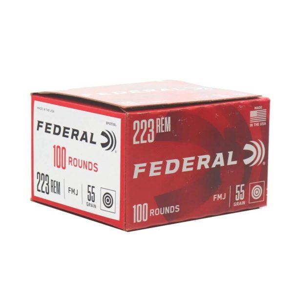 223 Rem Ammo in Bulk - 55gr FMJ Federal (BP223BL)