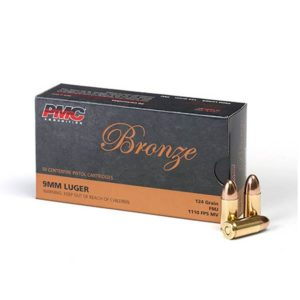 Bulk PMC (9G) 9mm Ammo - 124 gr FMJ - 1000 Rounds
