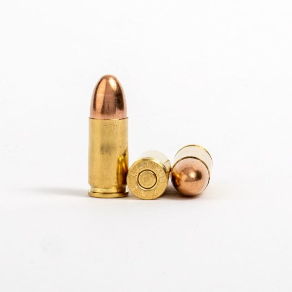 PMC 9G 9mm Luger 124 Grain FMJ Rounds