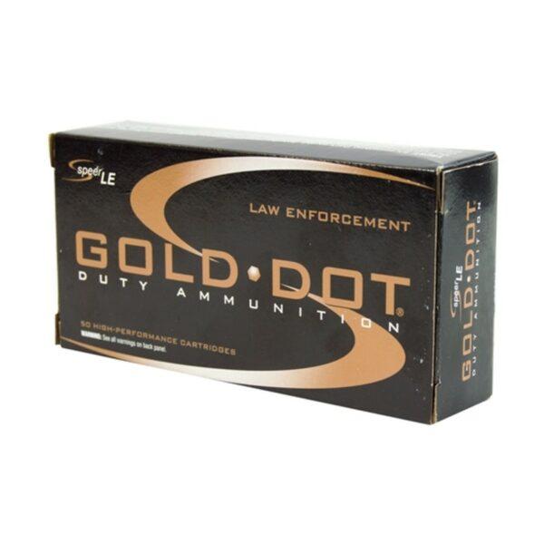 40 SW Speer Gold Dot 165 grain GD JHP 53970 1000 rounds
