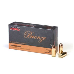 9mm 115gr JHP PMC 9B Bulk Ammo For Sale