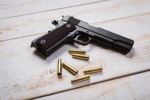 first pistol