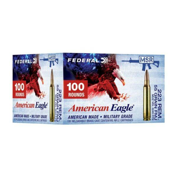 223 Rem Bulk Ammo for Sale - 55gr FMJ - Federal -AE223BL-500 Rounds