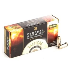 9mm 124gr Hydra-Shok JHP Federal Bulk Ammo - 1000 Rounds