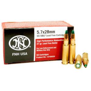 5.7x28mm FN Herstal SS198LF Ammo in Bulk