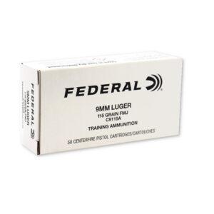 C9115A Federal 9mm Ammo